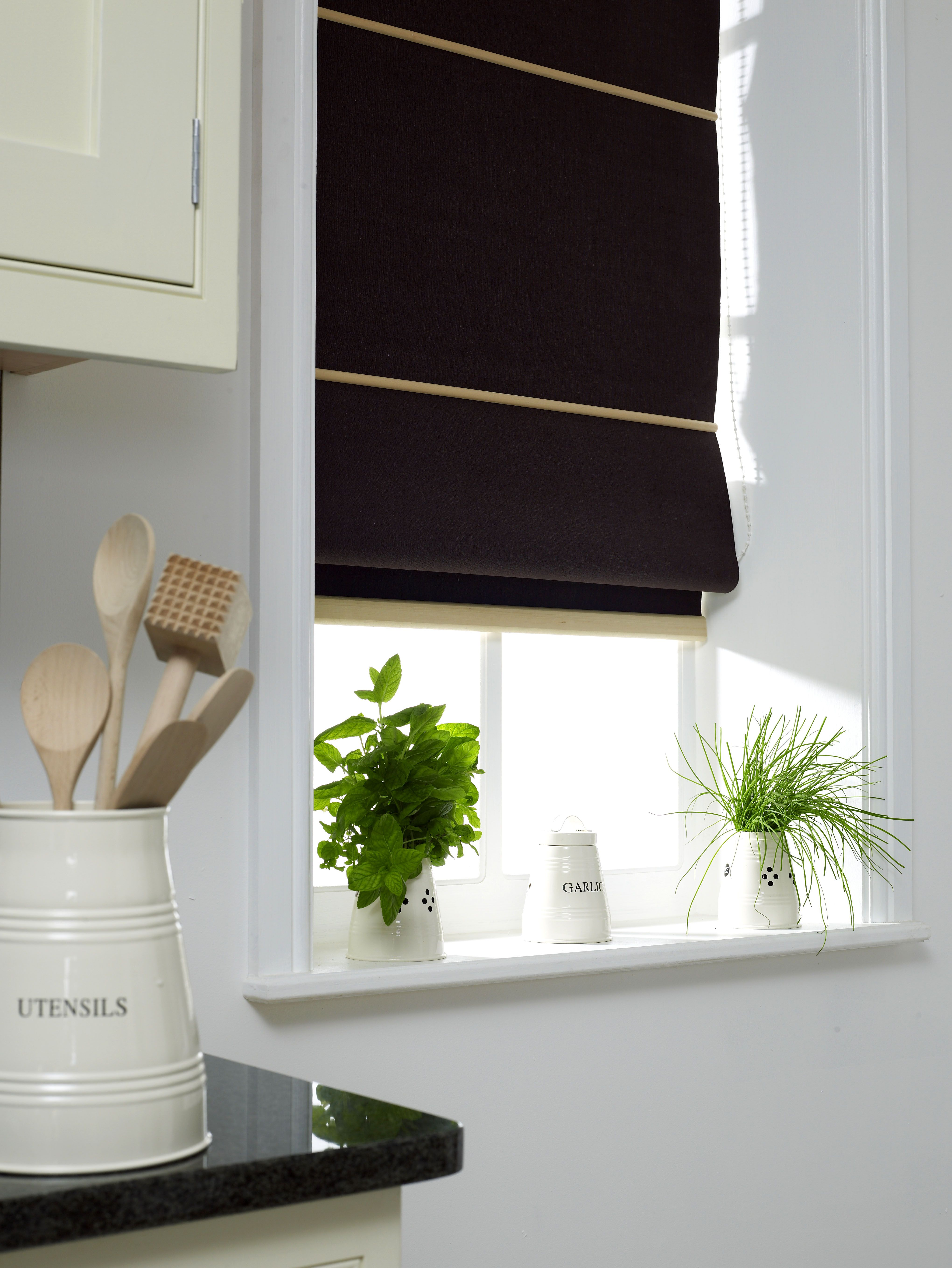 Calico Roman Blind From Apollo Blinds