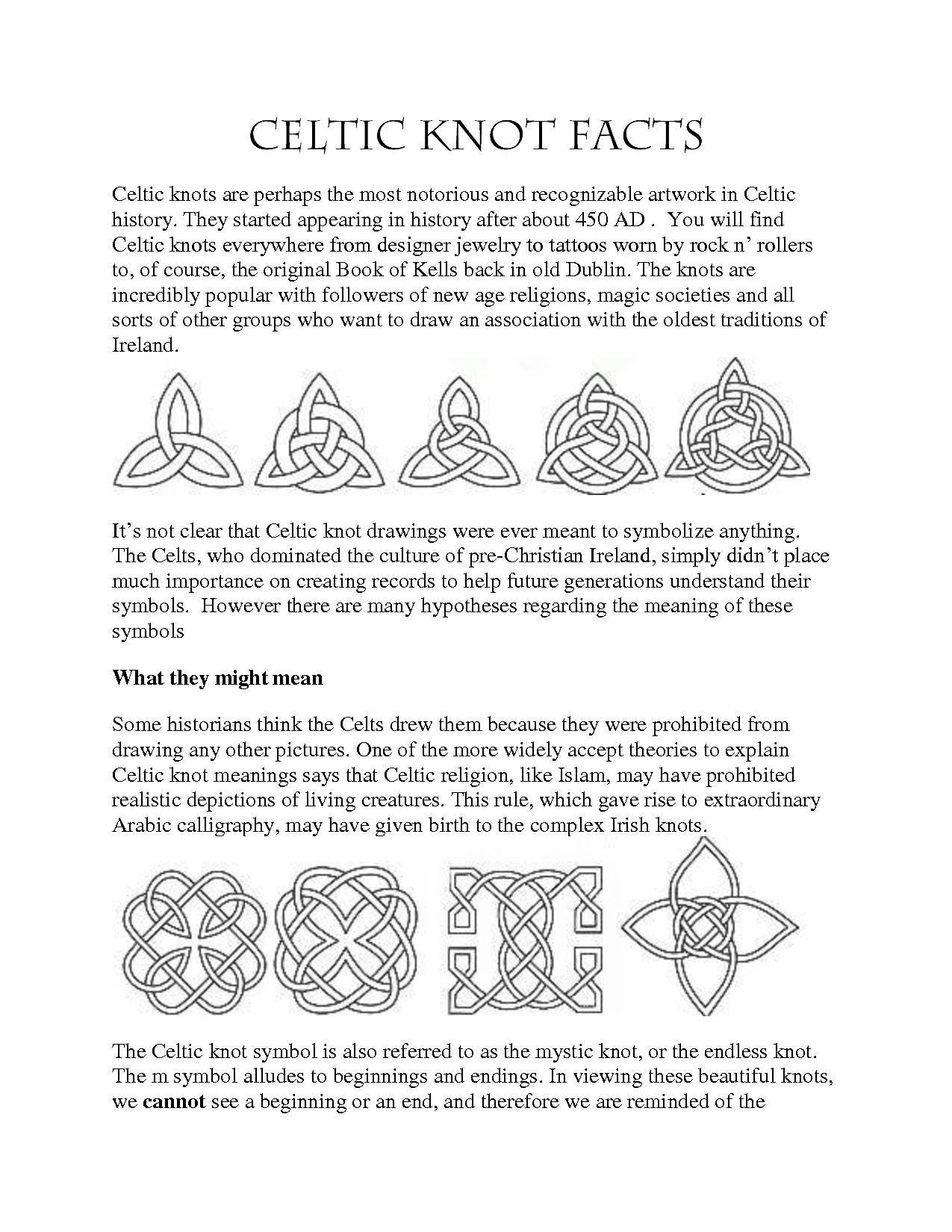 Celtic Designs And Their Meanings Celtic Symbols And Their
