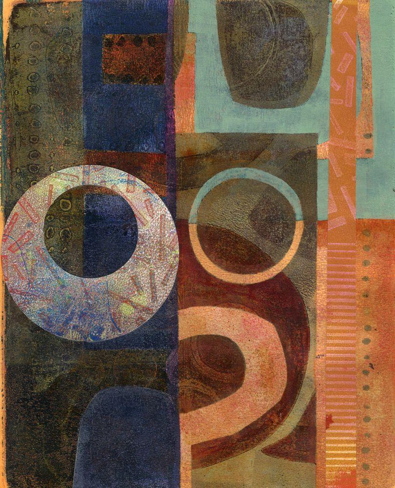 Michèle Brown Artist Abstract art inspiration, Circle