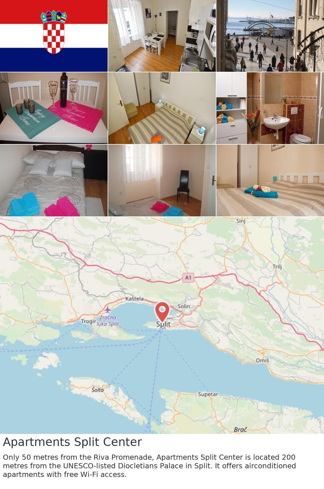 #europe #croatia #split Apartments Split Center. Only 50 ...