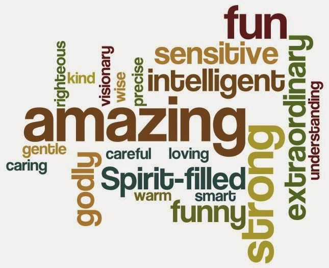 Word cloud of husband's characteristics using wordle.net | Quotes ...