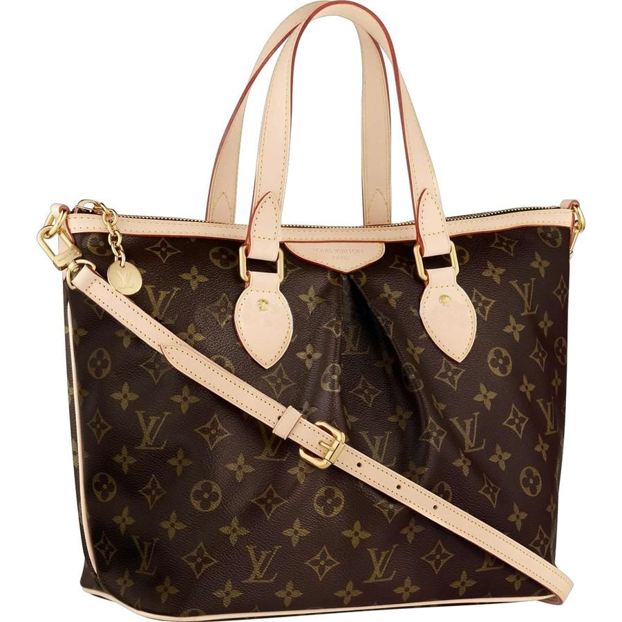 dca59f15c41 Louis Vuitton Outlet Online Monogram Canvas Palermo PM M40145 I Should  Suggest You To Buy Now