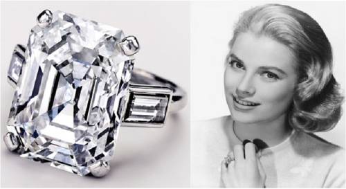 Prince Rainier originally proposed to Grace Kelly with a Cartier