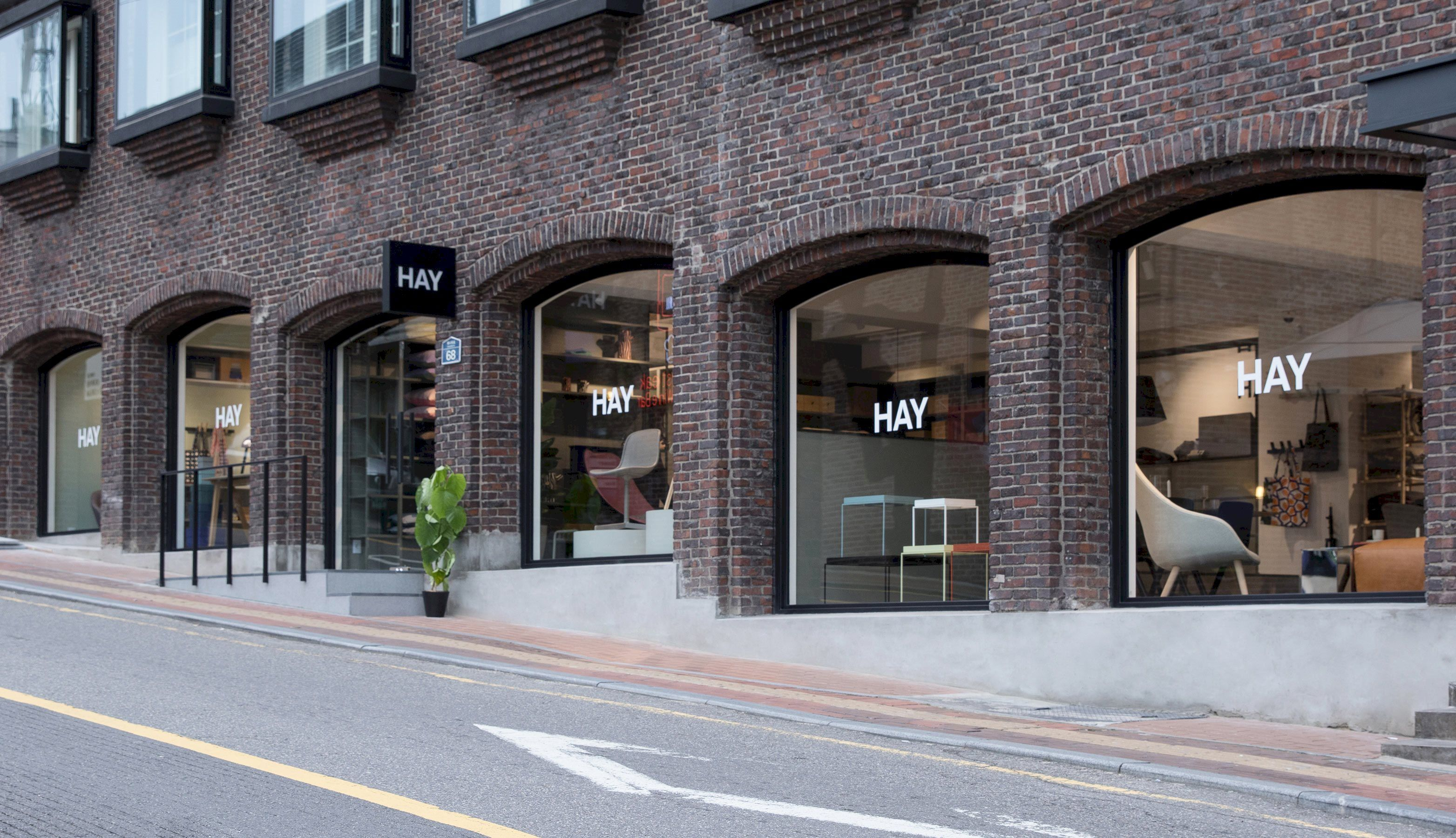 hay seoul store opening design shop pinterest shop. Black Bedroom Furniture Sets. Home Design Ideas