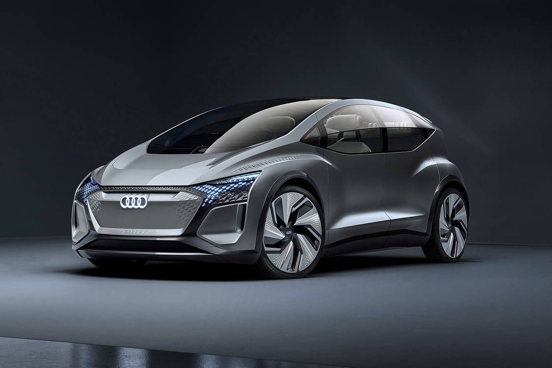"Audi Unveils ""City Car of the Future"" Concept Vehicle"