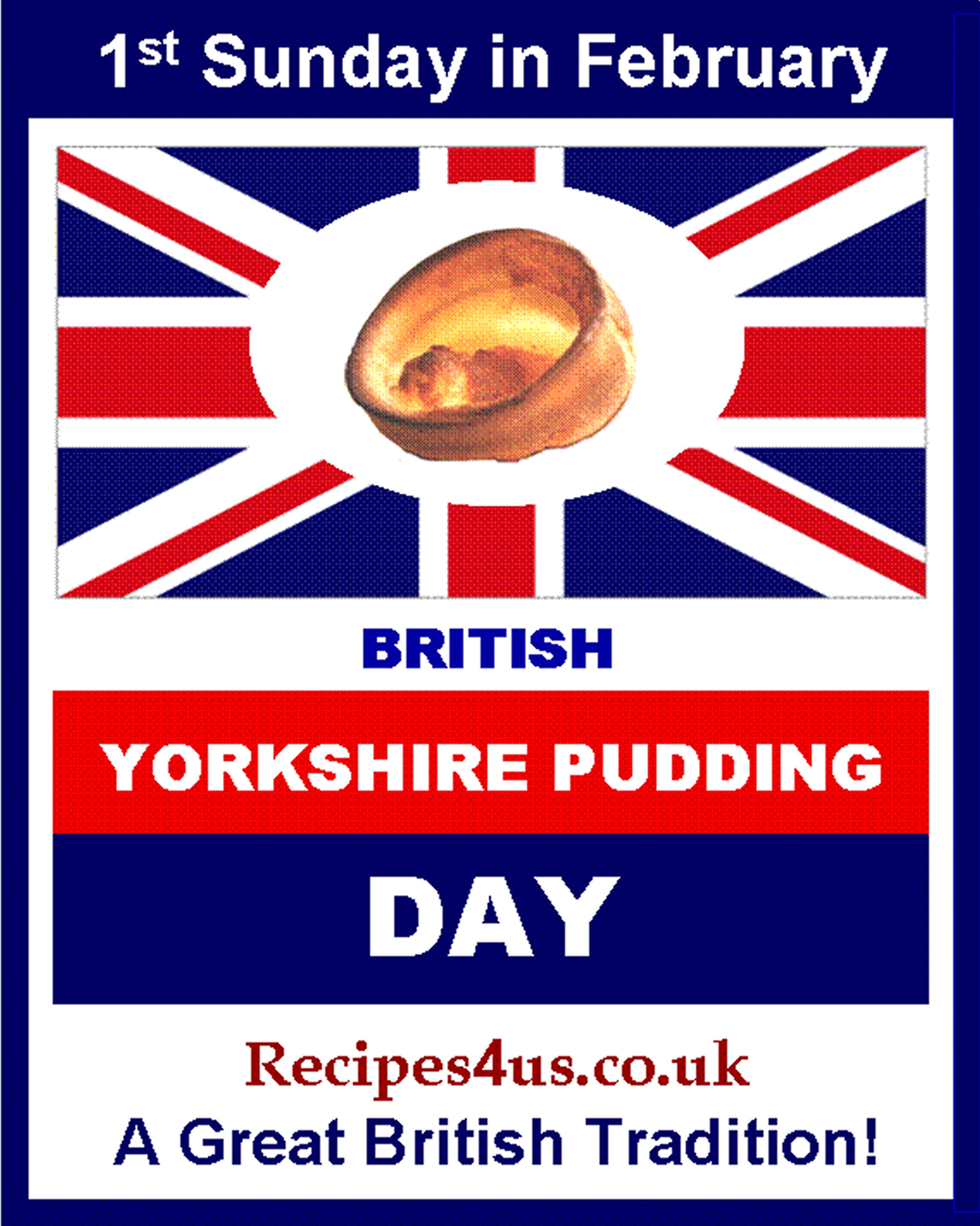 Well Believe It Or Not Sunday Is Officially British Yorkshire