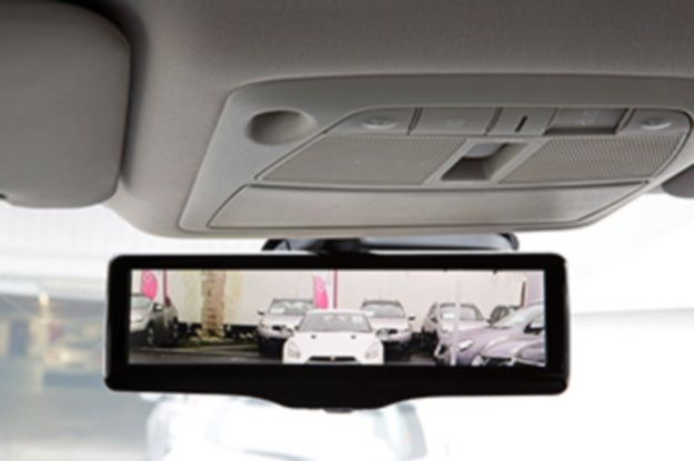 The next part of your car to get smart--the rearview mirror