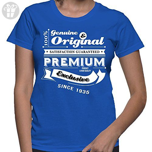 Gift For 81 Year Old Women Birthday Genuine And Original T Shirt Present