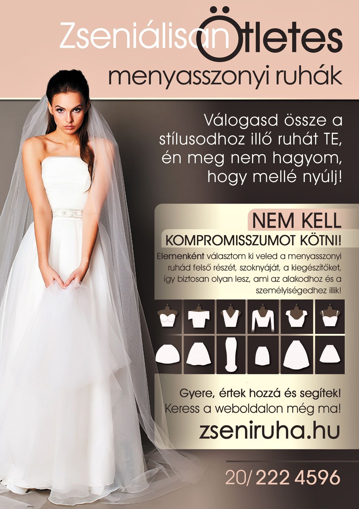 reklám menyasszonyok