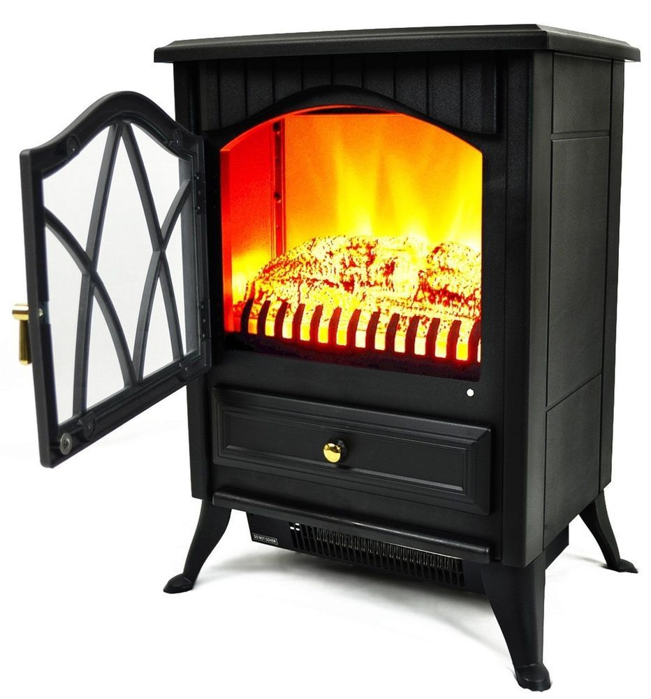 New Duraflame 5 200 Btu Infrared Quartz Stove Heater With 3d Flame