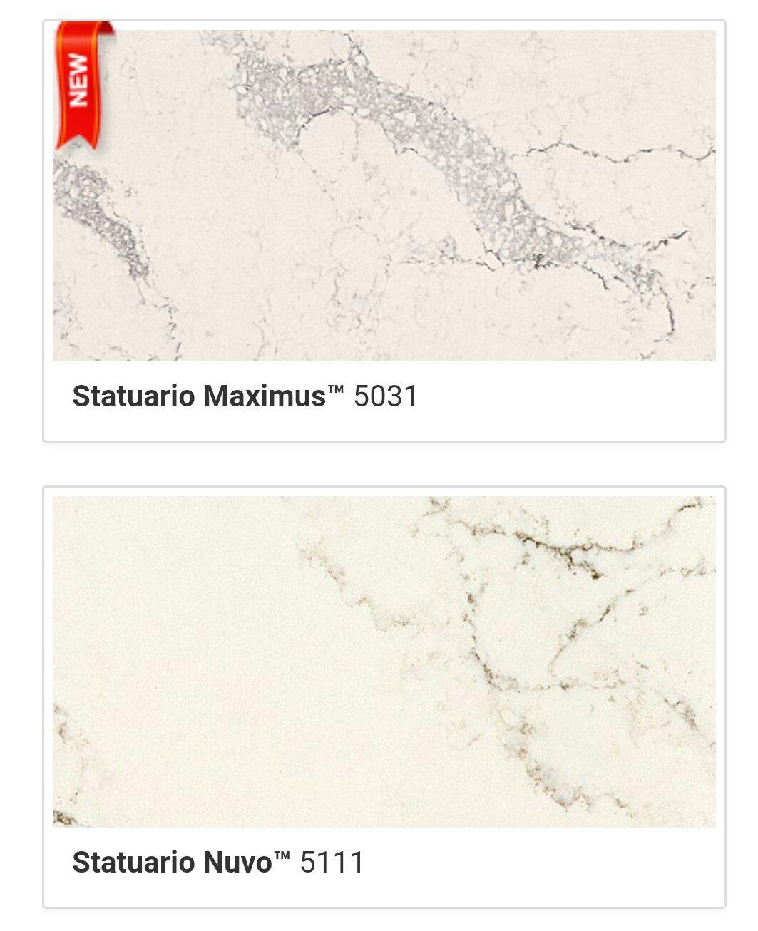 Caesarstone Statuario Maximus Nuvo Quartz Stone Slab