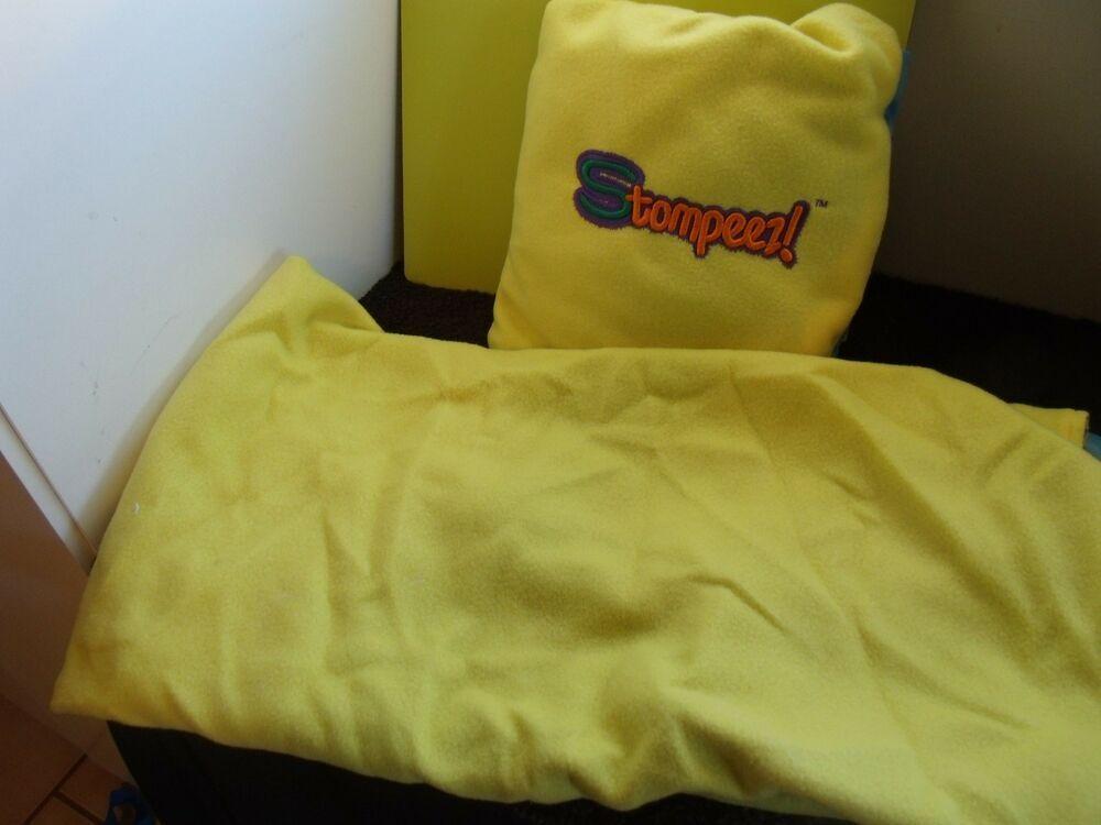 Stompeez 2 Soft BlanketsPillows To Go