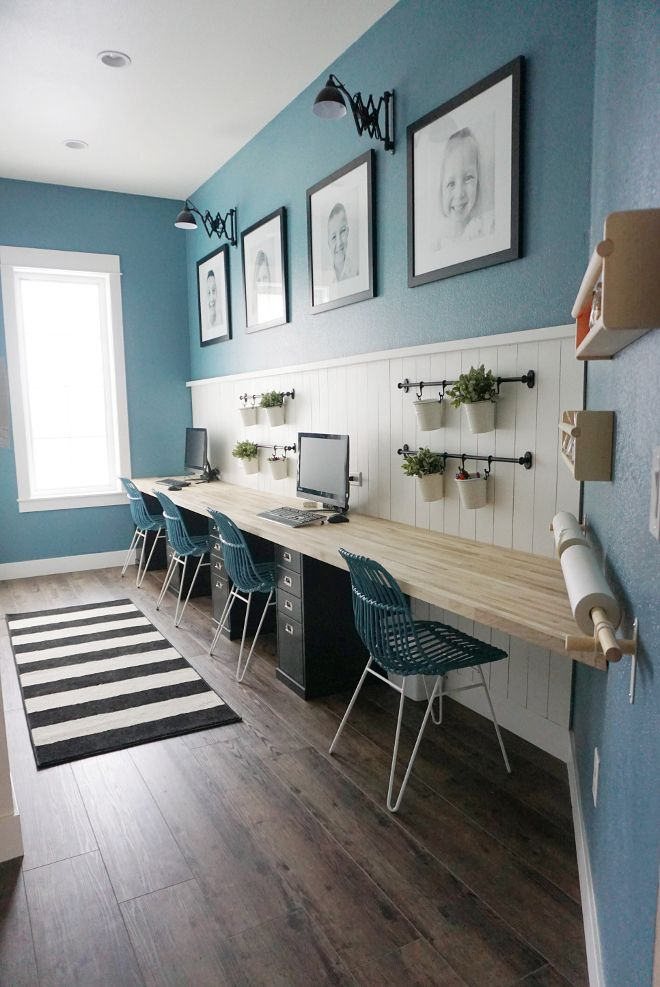 Basement Study Room: Beautiful Homes Of Instagram. Family Study...