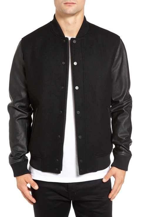 Topman Varsity Bomber Jacket | Jackets | Pinterest