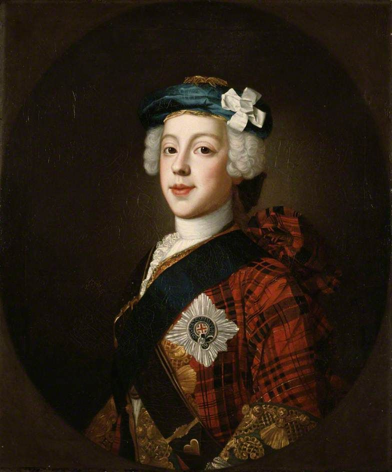 Portrait of Prince Charles Edward Stuart (1720–1788), Eldest Son of Prince James Francis Edward Stuart c.1750 by William Mosman (Scottish c.1700–1771)