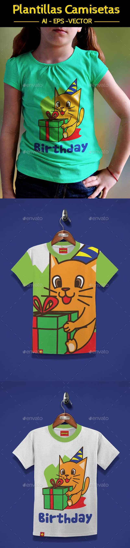 "Camiseta para niña ""Cumpleaños"". | Camisetas para niños | Pinterest ..."