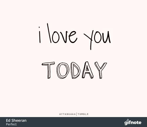 Photo of I love you