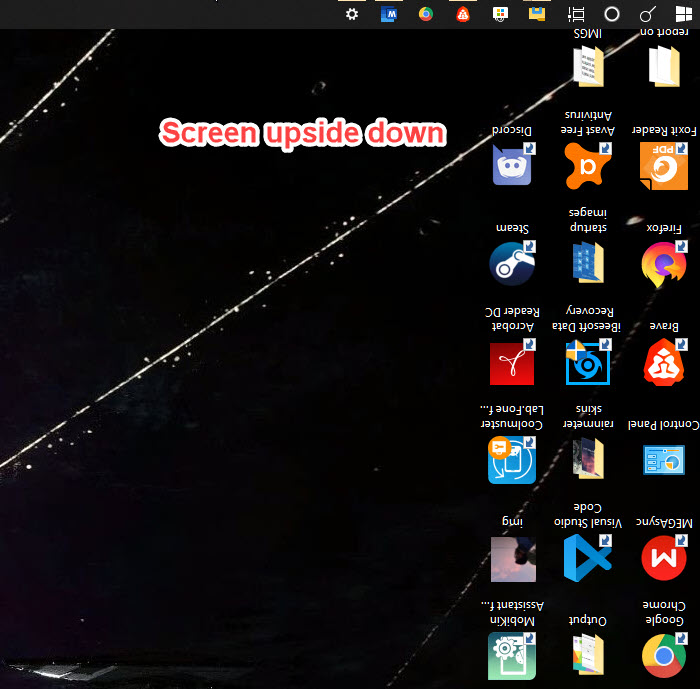 How To Rotate Screen Upside Down Or Sideways In Windows 10