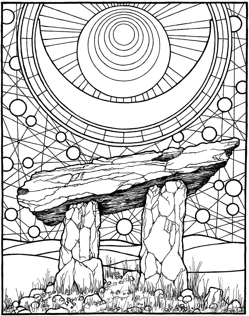 The coloring book project 2nd edition -  Dolman From The Coloring Book Equinox