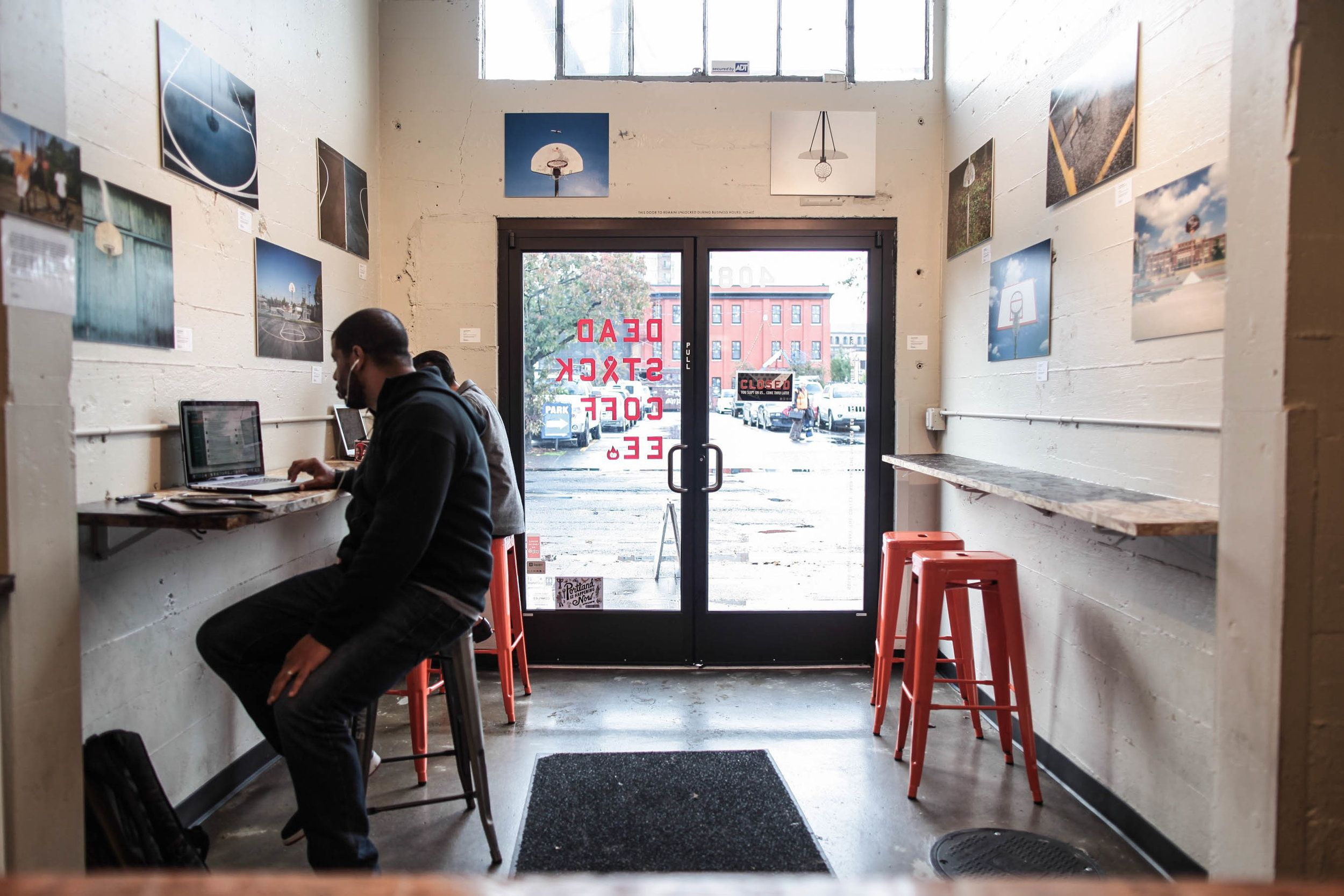 Deadstock Coffee | Portland coffee, Gallery, Gallery wall
