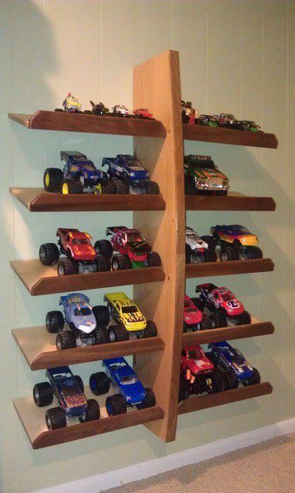 Monster Truck Holder | Projects for Dad | Pinterest | Estanterías ...
