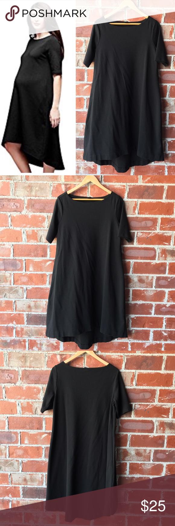 Gap maternity dress swing dress dress black and swings gap maternity dress ombrellifo Image collections