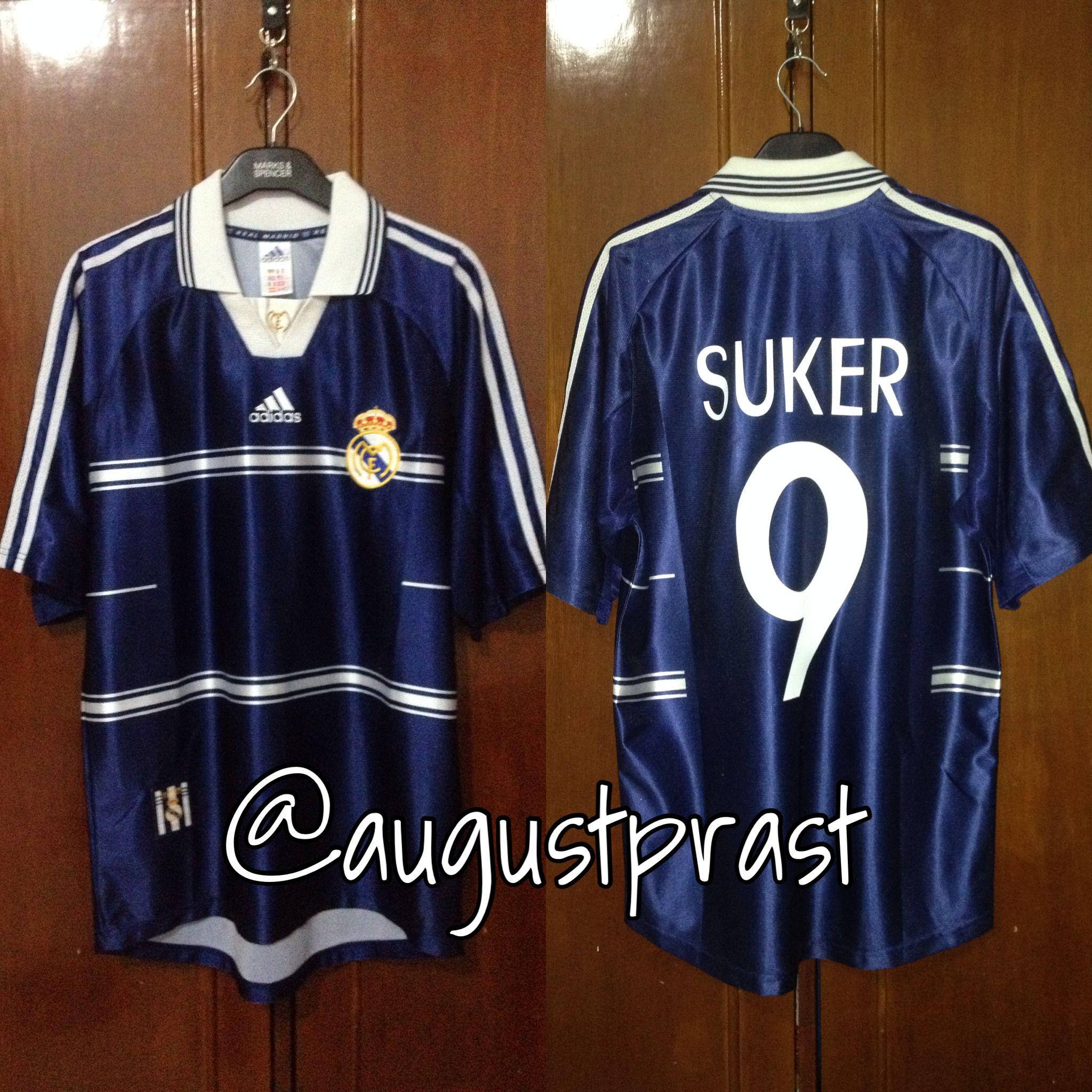 ff6573716 Real Madrid 1998-1999 Away  9 Suker