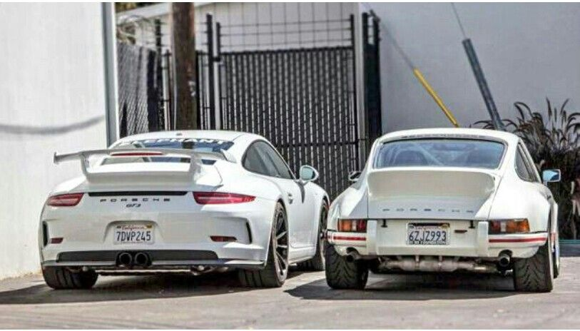 Porsche GT3, classic style and top knotch performance