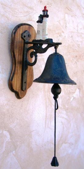 Campana De Hierro Faro Timbre 675974 Jpg Arrow Wood Sign Decorative Bells Wood Signs