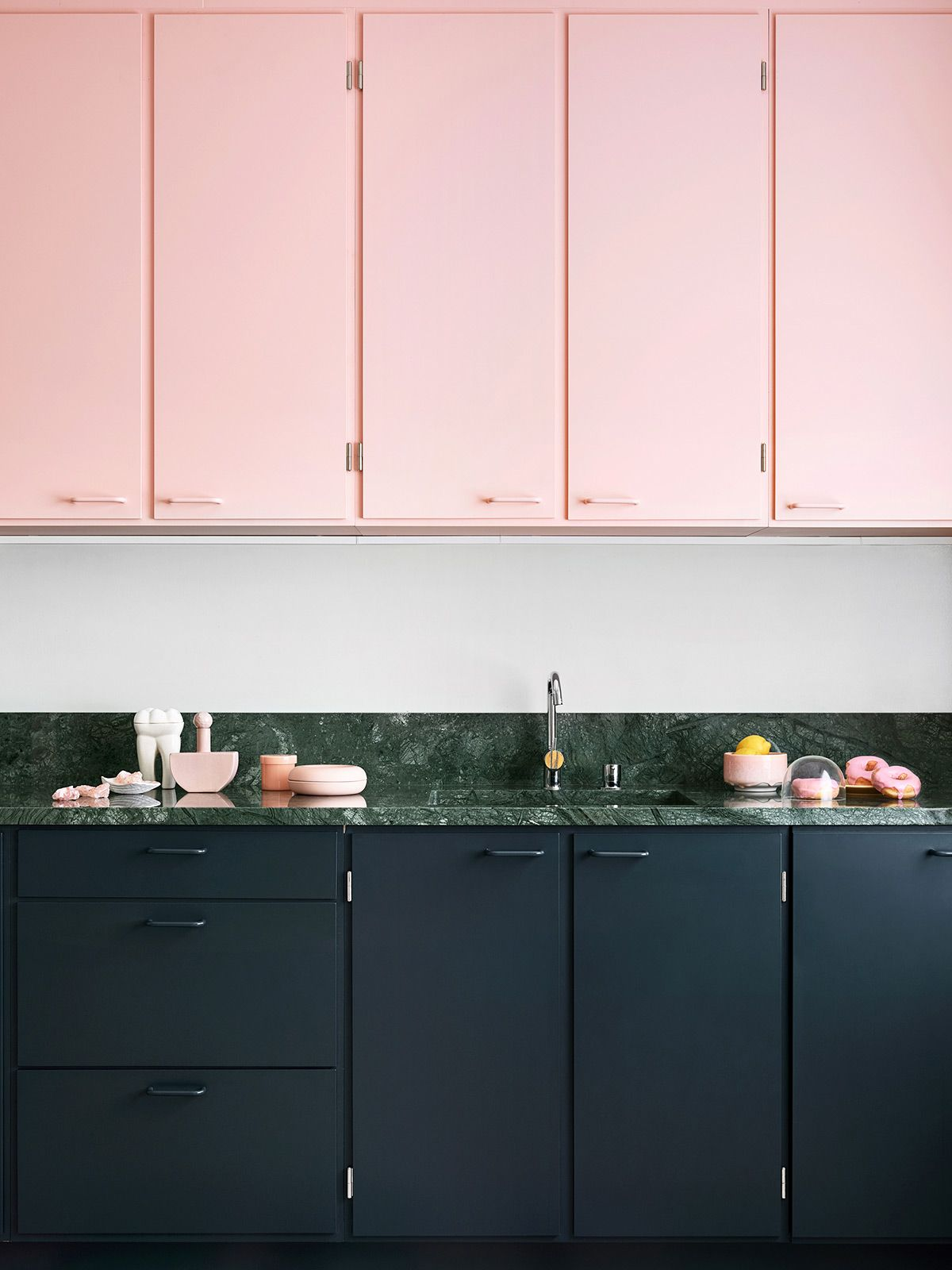 color story the palest pink  - Kitchen design color, Kitchen renovation, Plywood kitchen, Simple kitchen, Kitchen countertop colors, Interior design kitchen - this week's color story was inspired by all the pretty cherry and quince blossoms that are in season right now  my very favorite florals