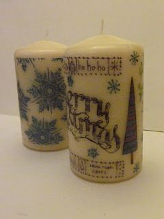 Art and Sole: Christmas Candles