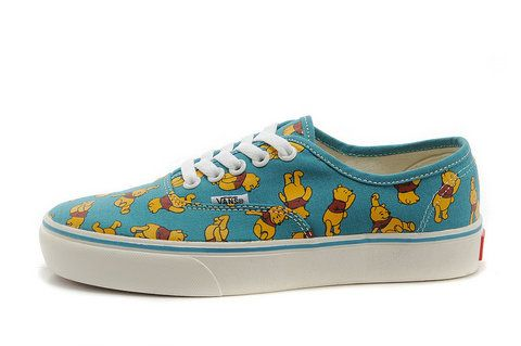 7950bd856b0db4 Blog - Vans Custom Shoes Low Winnie The Pooh Sneakers
