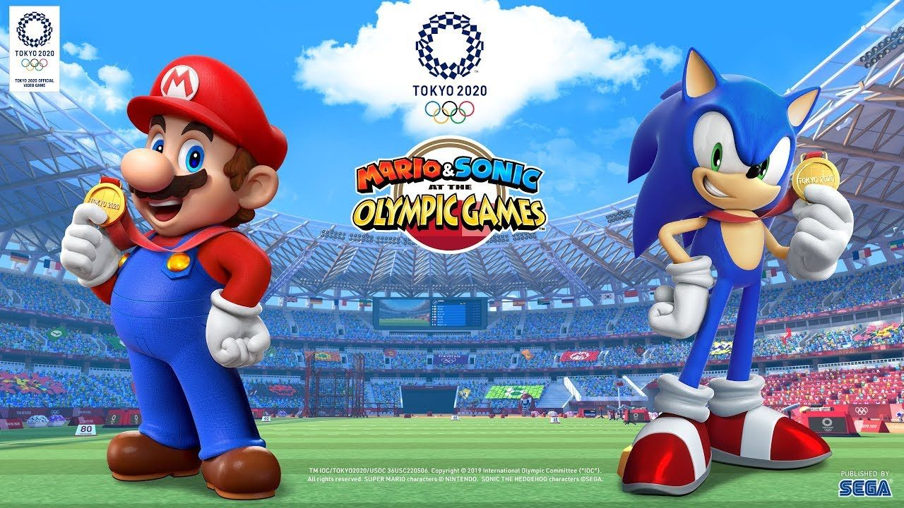 3ds Games 2020.Mario Sonic At The Olympic Games Tokyo 2020 Reveal