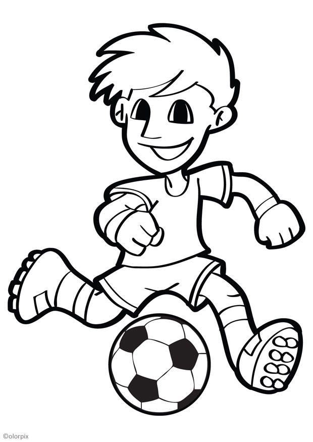 Futbol | Dibujos para pintar | Pinterest | Dibujos para pintar ...