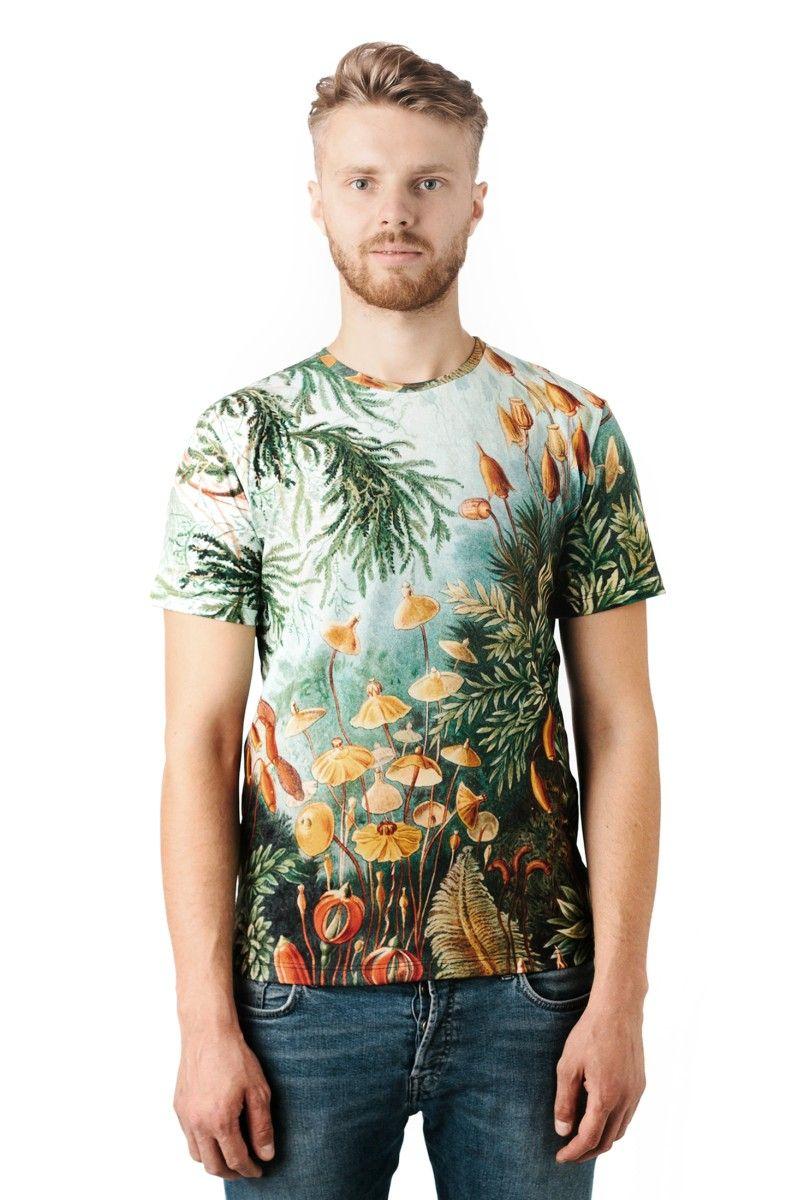 Moss - Printed T-Shirt