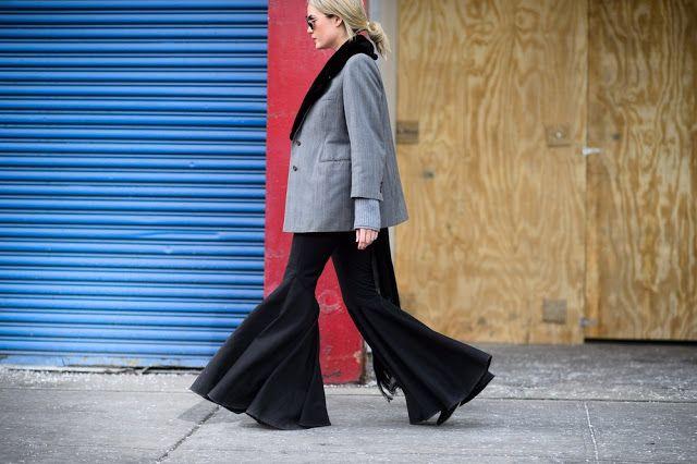 Parisienne: Kick Flare Trousers