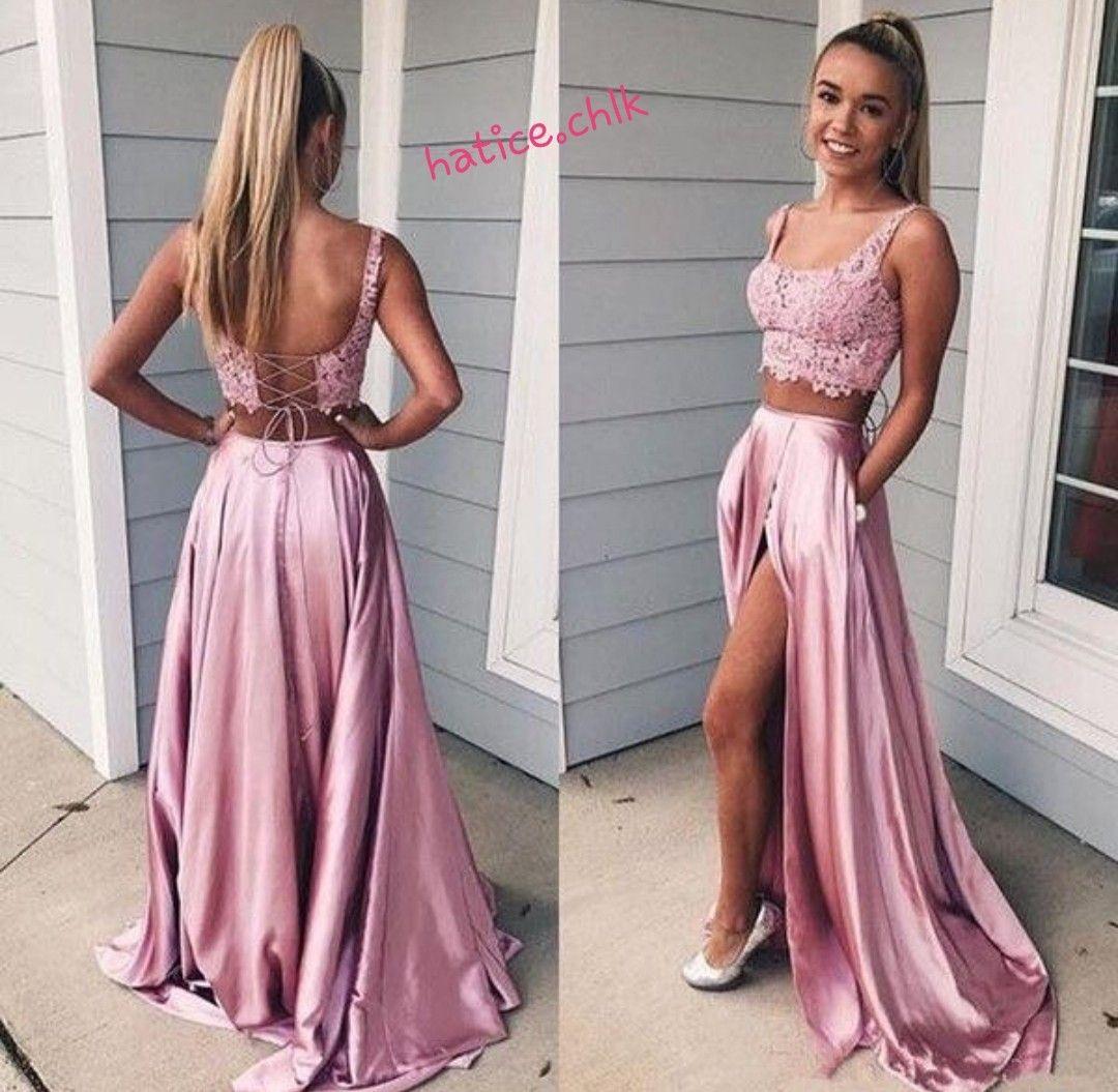 Pink Lady Cute Prom Dresses Prom Dresses Lace Pink Prom Dresses