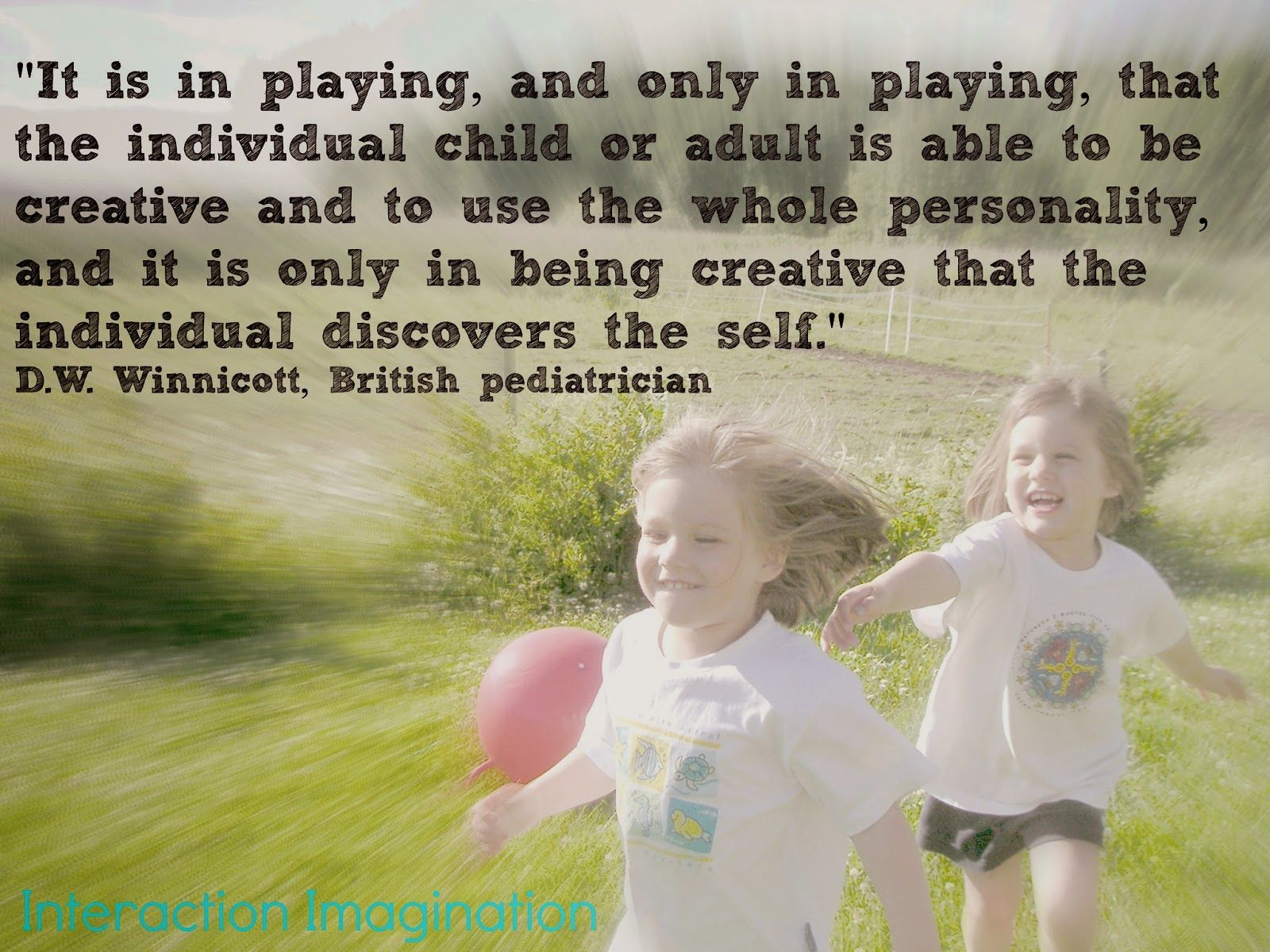 a post exploring thoughts about childhood... about play... about imagination...