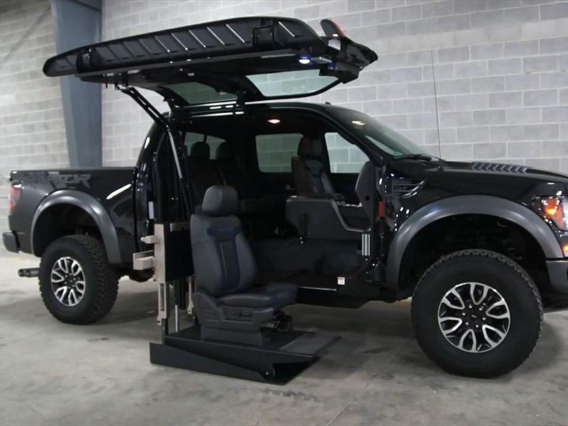 Ford Raptor Lifted