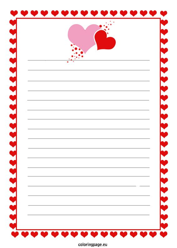 Free Printable Love Letter Coloring Page Valentines Letter Lettering Love Letters