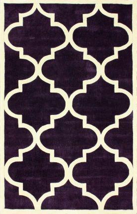 Keno Trellis Slate Rug   Contemporary Rugs