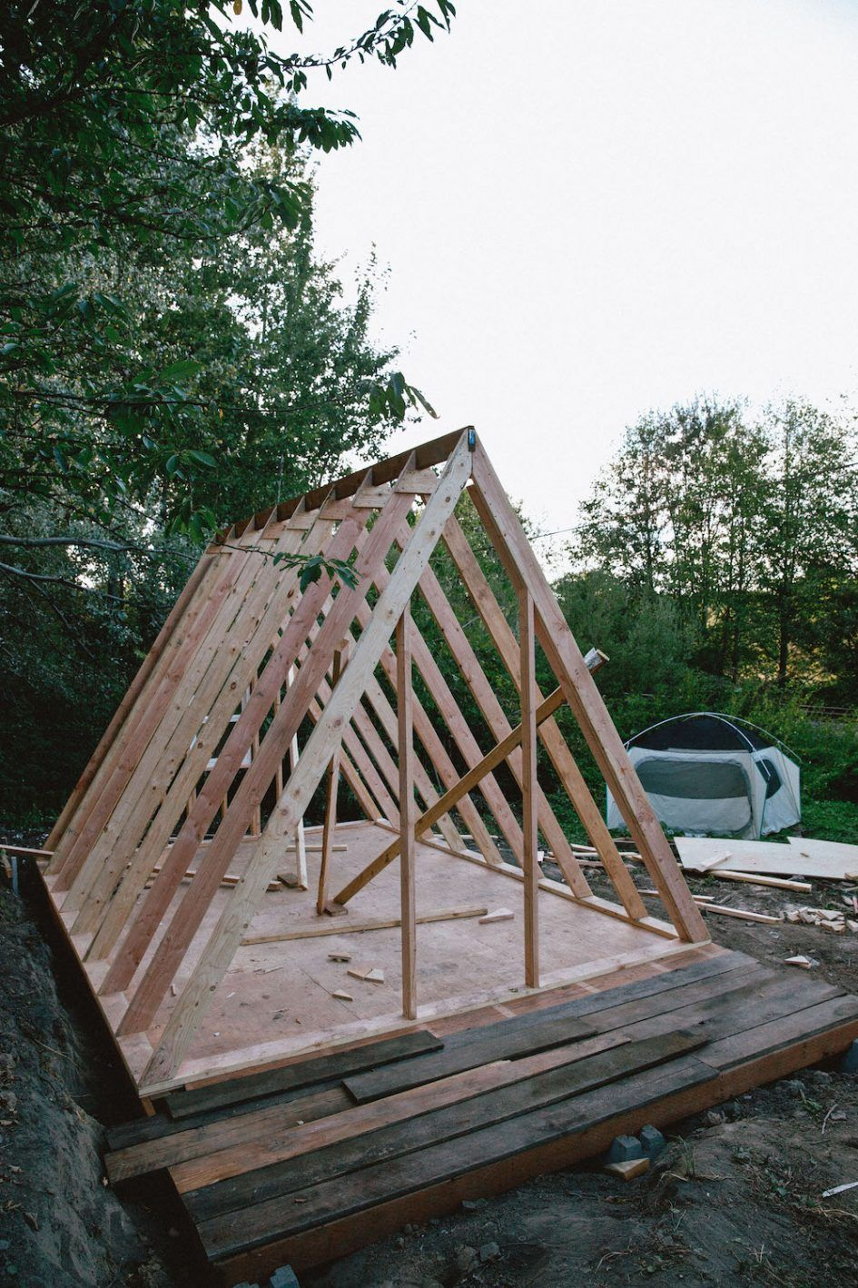 How to build a frame house 30