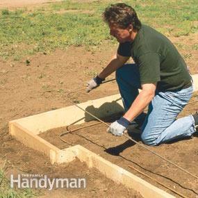 How to Pour Concrete | Outside | Poured concrete, Concrete