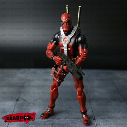 4/'/' Marvel Universe X-Men New Gift Loose Grey Deadpool Action Figure Toy