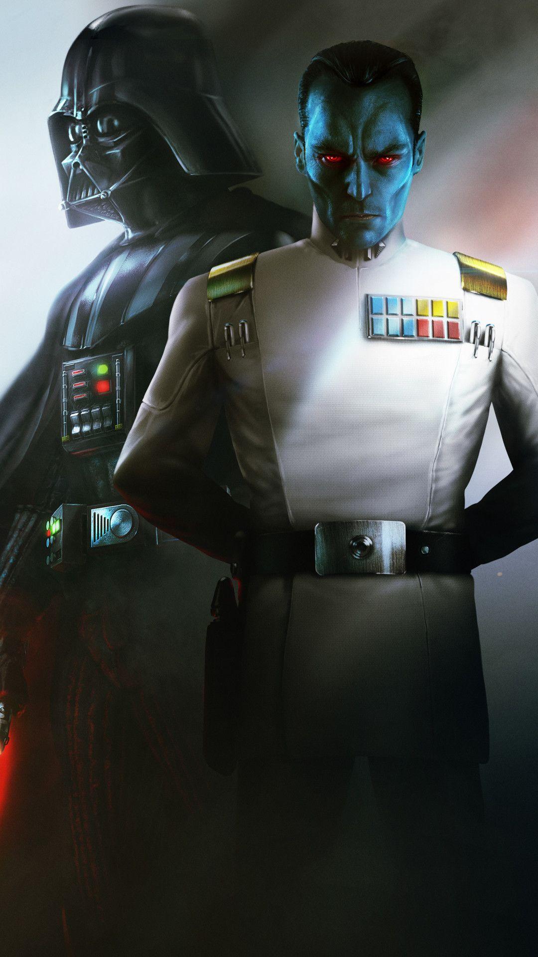 Star Wars Thrawn Alliances Mobile Wallpaper Iphone Android Samsung Pixel Xiaomi In 2020 Movie Wallpapers Star Wars War