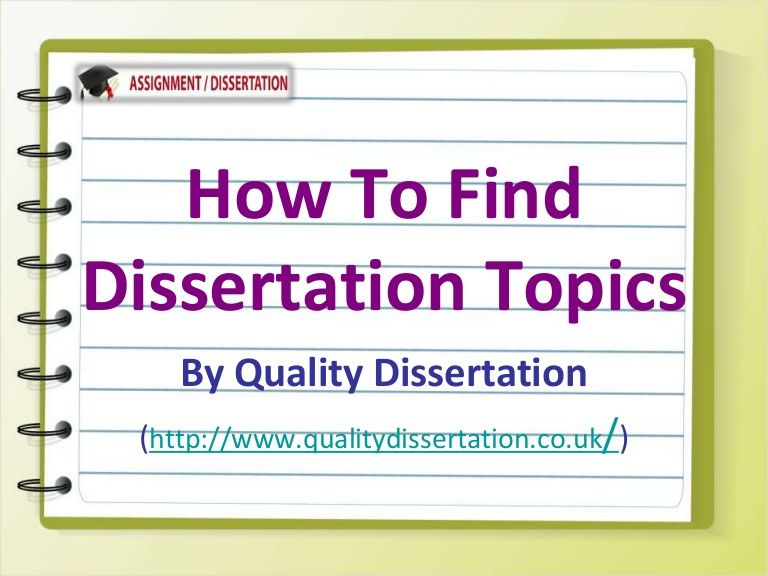 Dissertation or treatise on academic subject