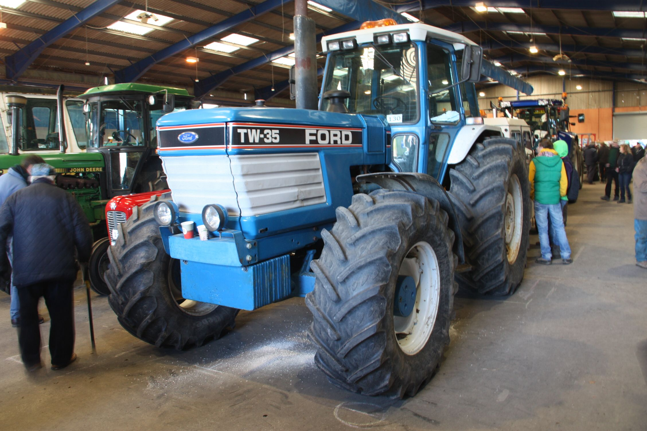 Ford Tw 35 Tractor Mania Pinterest Tractors 7740 Wiring Harness Kits New Holland Heavy Machinery Farms Techno