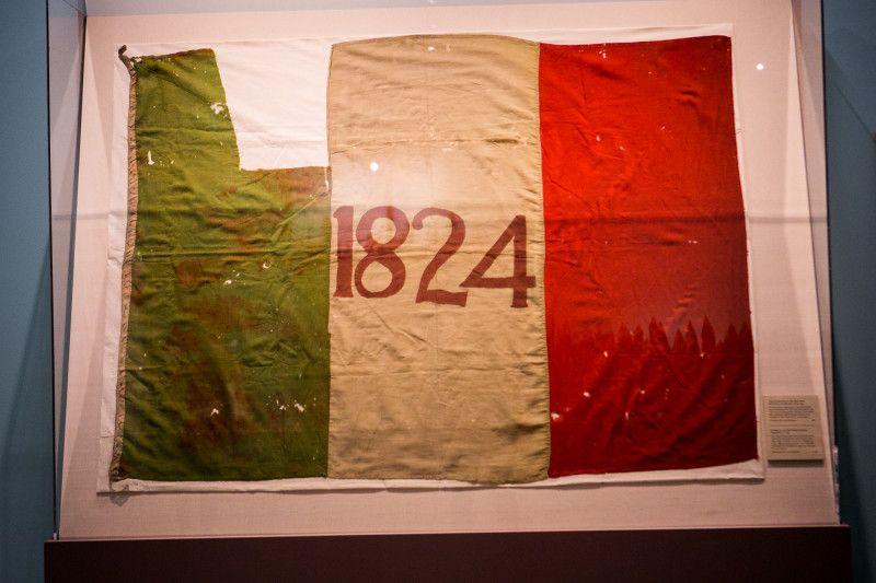 The 1824 Flag Of The Texas Revolution Texas Revolution Texas Art Alamo