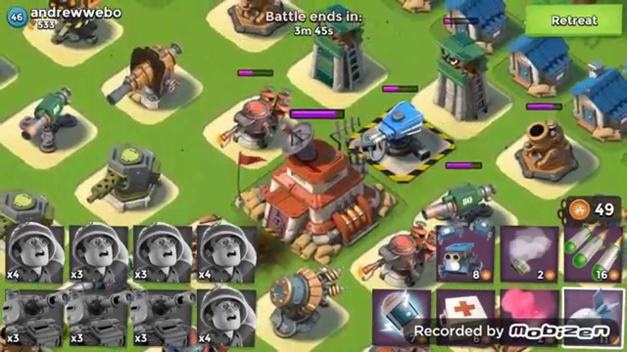 Boom Beach: Lim's Base, get resources for upgrading a Landing Craft to  ...