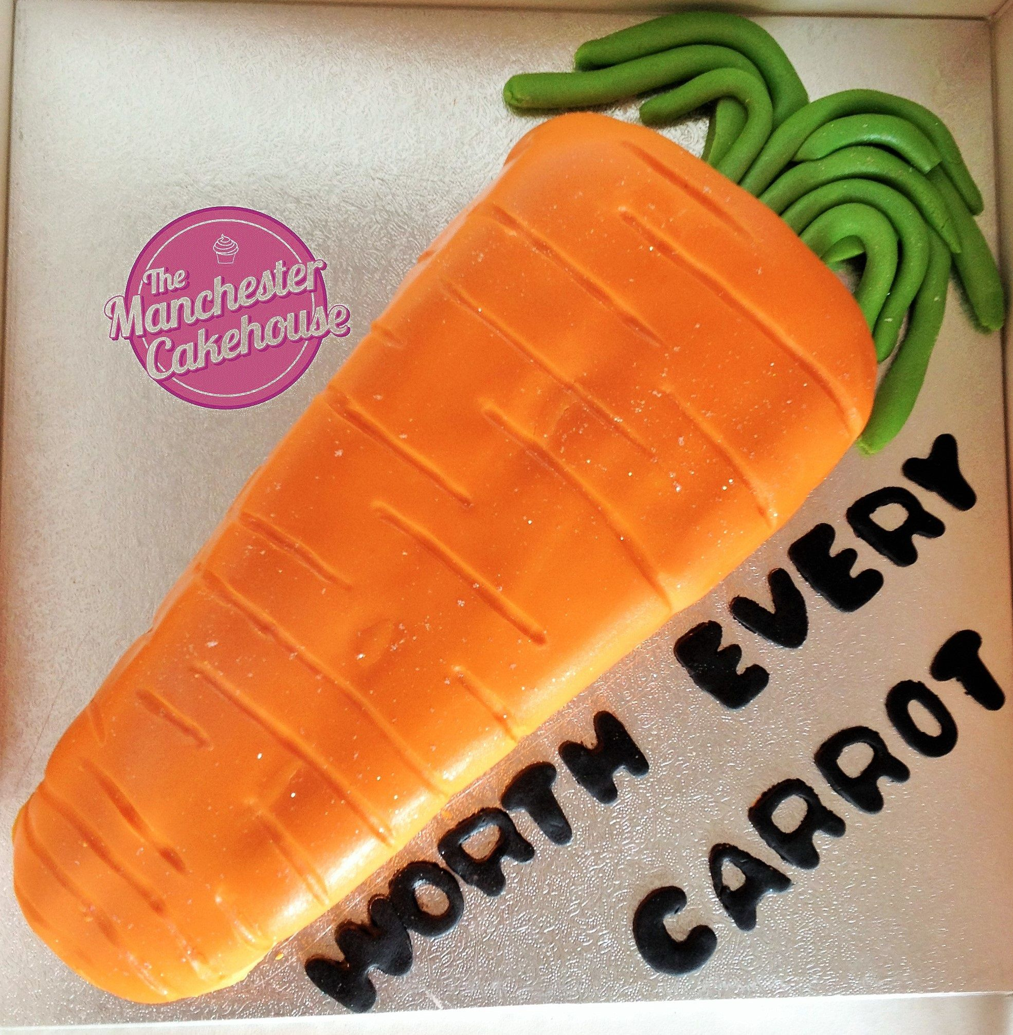 Carrot cake from the manchester cakehouse www